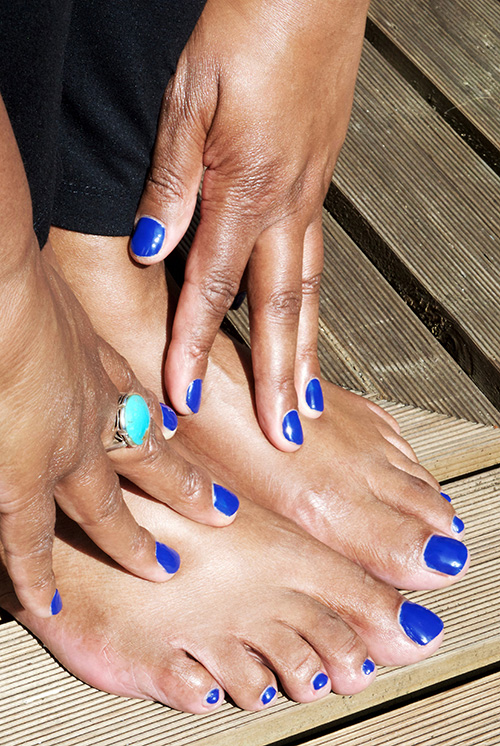 Mooie voeten en handen Sanny Simon Total Footcare Leiden voetverzorging